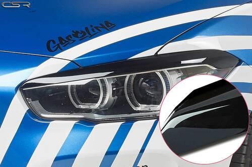 BMW 1er F20 / F21 Facelift  15-19 Реснички на фары глянцевые