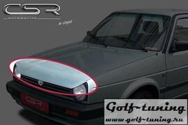 VW Golf 2  Ресница Badlook из металла X-Line design