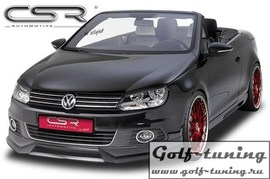 VW EOS Cabrio 11- Накладка на передний бампер