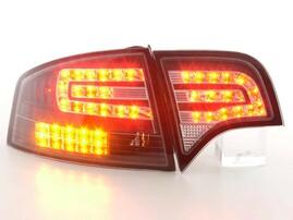 Audi A4 B7 04-08 Седан Фонари светодиодные, черные