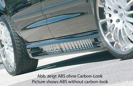 Ford Galaxy 00- /Seat Alhambra/VW Sharan 00- Накладки на пороги carbon look