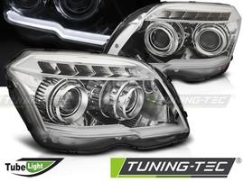 Mercedes GLK X204 08-12 Фары tube light design хром