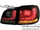 VW Golf 5 Plus 04-14 Фонари светодиодные, тонированные с светодиодным поворотником R-Look