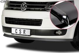VW T5 GP Multivan 09-15 Накладка на передний бампер Cupspoilerlippe глянцевая