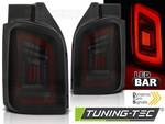 VW T5 03-15 Фонари светодиодные, красно-тонированные, lightbar design