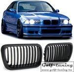 BMW E36 96-99 Решетки радиатора (ноздри) черные