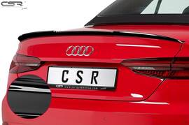 Audi A5 F5 Cabrio 16- Спойлер на крышку багажника глянцевый