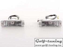VW Golf 1, VW Golf 2, VW Jetta1, VW Jetta 2 Поворотники хром, в узкий бампер