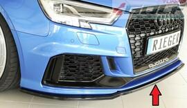 Audi A3 8V RS3 17- Накладка на передний бампер/сплиттер глянцевая
