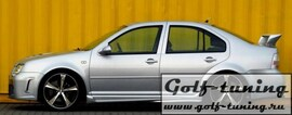 VW Golf 4/VW Bora Накладки на пороги zender