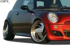 Mini Cooper/One/One D/R50/R52/R53 01-06 Накладки на пороги