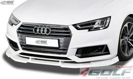 Audi A4 8W B9 S-Line/S4 Накладка на передний бампер VARIO-X