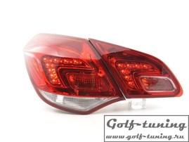 Opel Astra J 5Дв Фонари светодиодные, красно-белые
