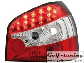 Audi A3 8L 96-03 Фонари светодиодные, красно-белые