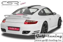 Porsche 911/997 04-09 Бампер задний Turbo-Look