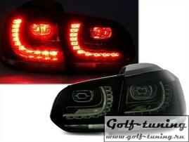 VW Golf 6 Фонари светодиодные, тонированные R20