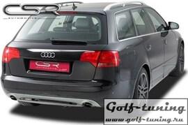 Audi A4 B7 Универсал  04-08  Накладка на задний бампер SF-Line design