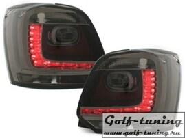VW Polo 6R Фонари светодиодные, тонированные Dectane RV46ELS