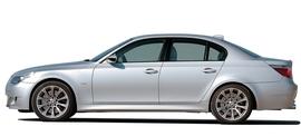 BMW E60/E61 03-10 Накладки на пороги Sportlook