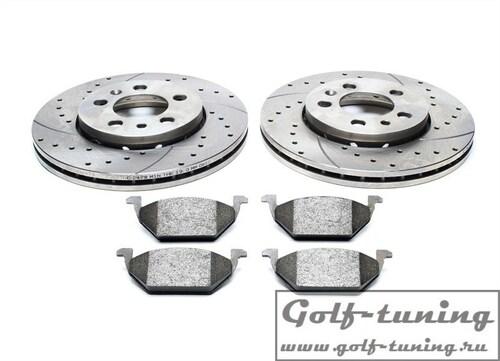 Audi / Seat / Skoda / VW Комплект спортивных тормозных дисков и колодок