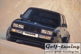 VW Golf 1 Обвес Wide Body 2 (Rieger GTO)