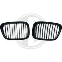 BMW E39 95-03 Решетки радиатора (ноздри) глянцевые