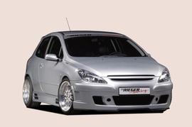 Peugeot 307 Накладки на пороги