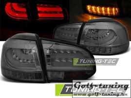 VW Golf 6 Фонари светодиодные, тонированные Lighbar