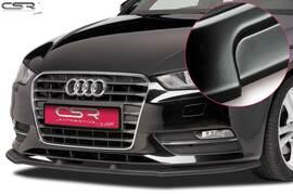 Audi A3 8V 12-16 Накладка на передний бампер матовая