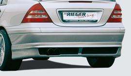 Mercedes W203 Накладка на задний бампер