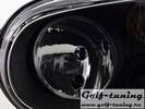 VW Golf 4 Фары черные без ПТФ