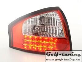 Audi A6 4B 97-04 Седан Фонари светодиодные, красно-белые