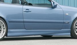 Mercedes W208 Купе/кабрио Накладки на пороги