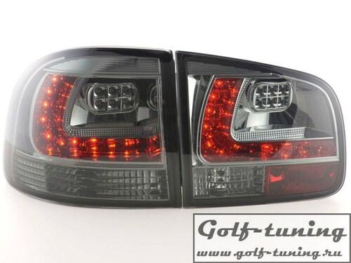 VW Touareg 02-10 Фонари светодиодные, тонированные