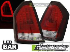 Chrysler 300C 05-10 Фонари светодиодные, led bar, красно-белые