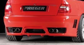 Audi A4 B5 95-01 Седан Задний бампер