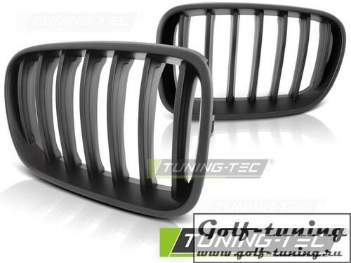 BMW X3 F25 10-14 Решетки радиатора (ноздри) матовые