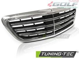 Mercedes W222 13-18 Решетка радиатора в стиле S65