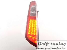 Ford Focus 04-08 Фонари светодиодные, красно-белые