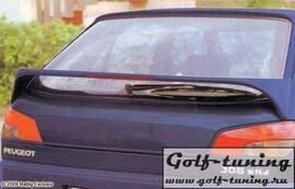 Peugeot 306 93-97 Спойлер на крышку багажника с стоп сигналом