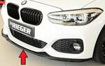BMW F20/F21 15- Накладка на передний бампер/сплиттер глянцевая