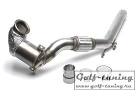 Audi A3 8V 12-19/ Seat Leon 5F 12-/ Skoda Octavia A7 12-19/ VW Golf 7 1.8FSI / 2.0FSI Даунпайп+катализатор
