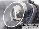 VW Golf 5 Фары с линзами черные GTI Look