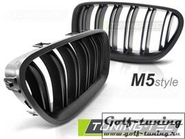 BMW F10/F11 10-16 Решетки радиатора (ноздри) M5 Look матовые