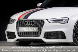 Audi A4/S4 11-15 Передний бампер под решетку RS4