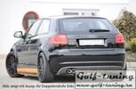 Audi A3 8P 3D 08-12 Диффузор для заднего бампера carbon look