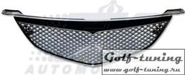 Mazda 3 03-06 Седан Решетка без значка с сеткой хром
