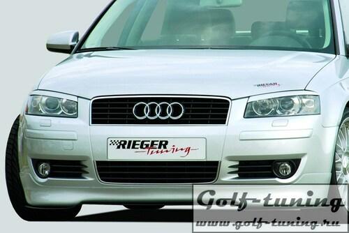 Audi A3 8P 03-05 3Дв  Накладка на передний бампер