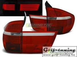 BMW X5 07-10 Фонари светодиодные, красно- белые