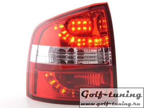 Skoda Octavia Combi 1Z 05-11 Фонари светодиодные, красно-белые